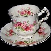 Paragon - Pink Carnations - Teacup Set