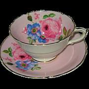 Paragon - Pink Rose on Pink - Teacup Set