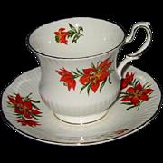 Queens - Tiger Lily - Teacup Set