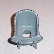 Kilgore Cast Iron Doll House Furniture Potty Seat