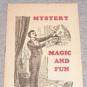 Vintage Mystery Magic & Fun Catalog