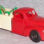 Vintage Hubley Kiddie Toy Wrecker Truck