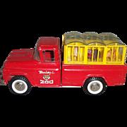 Buddy L Pressed Steel Traveling Zoo Truck