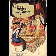 1922 Dennison Co. Tables & Favors