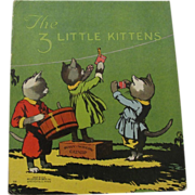 Early The 3 Little Kittens Book McLoughlin Bros.