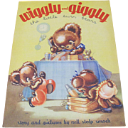 1939 Wiggly and Giggly Little Twin Bears Book