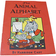 SALE PENDING 1921 The Animal Alphabet Book by Harrison Cady