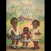 SOLD 1929 Book Cover 3 Cute Black Children by Ida Chubb
