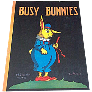 1930 Busy Bunnies Children's Book