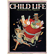 Child Life Valentine Cover Feb 1920's