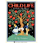 Child Life Valentine Cover Feb 1935
