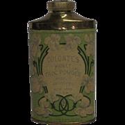 1906 Colgate's Violet Talc Powder Tin