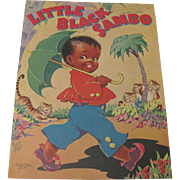 SOLD 1942 Little Black Sambo Book Illust, by Ethel Hays