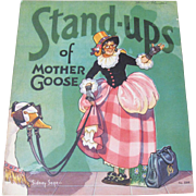 SOLD 1935 Stand-Ups Of Mother Goose Paper Doll Book