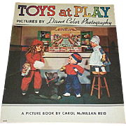 1937 Toys At Play Book - Dolls, Dolls & More Dolls