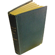 1868 First Edition Antique Synopsis Filicum or A Synopsis of All Known Ferns Sir William Jacks