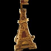 Antique Victorian Souvenir Figural Tape Measure - Blackpool Tower, England - very rare