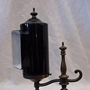 Rare Form Emeralite Piano Lamp