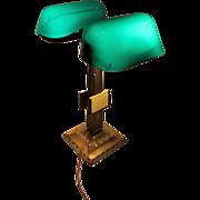 Emeralite Partners Desk Lamp with Calendars