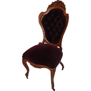 Oak Belter Rosalie Without Grapes Side Chair