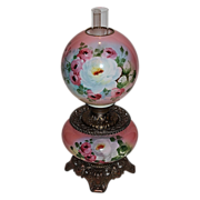 Wonderful Gone with the Wind Oil Lamp ~Hand Painted Masterpiece~ Breathtaking BEAUTY WITH HAND