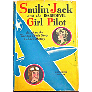 Smilin' Jack and the Daredevil Girl Pilot, Whitman Book Copyright 1942