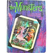 The Munsters and the Great Camera Caper, a Whitman T.V. Adventure Book Copyright 1965