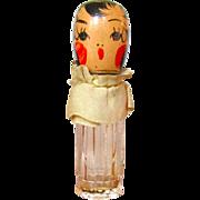 1936 Karoff Creations Flapper Doll Perfume Bottle Miss Chypre Vintage 1936