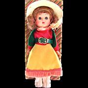 Gigi Doll Cowgirl Walker in Original Box A & H Vintage 1955