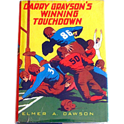 SOLD Gary Grayson's Winning Touchdown Whitman Book Copyright 1930