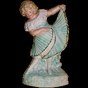 REDUCED Heubach Dancing Girl, circa 1900