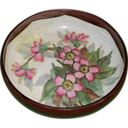 REDUCED Lovely Haviland Limoges Hand-Painted Footed Bowl