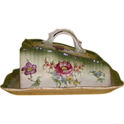 REDUCED Lovely Vintage Cheese Tray and Dome, England - Early 20th Century