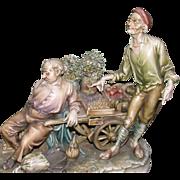 "SOLD Borsato - ""Siesta's Price"" - Fabulous Multi-Figural Sculpture"