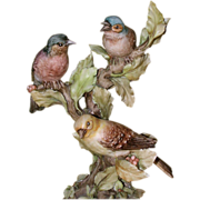 """REDUCED BORSATO - """"Out On A Limb"""" - Multi Figural Porcelain Sculpture by the Master!"""
