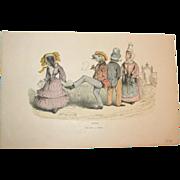 SALE PENDING Grandville (Jean Ignace Isidore Gérard) (1803 - 1847) - Les Métamorphoses du jo