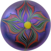 James Lundberg - Fabulous Paperweight circa 1973
