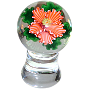 STEVEN LUNDBERG - Two Piece Paperweight. Absolutely Exquisite.  Personally Signed and Dated, 1989