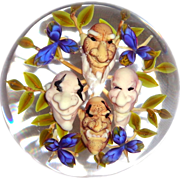"JIM D'ONOFRIO - ""Gnome Bouquet"" Paperweight -"