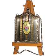 Elegant and Beautiful  - Au Necessaire with Guilloche Enameled Inset, From A Most Gracious Tim