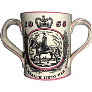 Courage and Company Limited Royal Doulton Special Edition Loving Cup Celebrating Elizabeth II