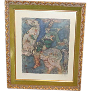 """""""King David: Signed and Numbered by Well-Listed Artist Reuven Rubin (1893-1974)"""