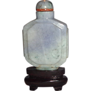 SALE Lavender Jadeite Snuff Bottle,  19th Century, Exquisite