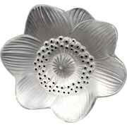 REDUCED Lalique Anemone Flower For Someone Very Special!