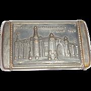 1904 St. Louis World's Fair Palace Of Transportation Match Safe (Vesta)