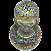 REDUCED Murano Art Glass Millefiori Decanter