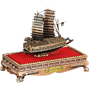 Miniature Korean Turtle Ship From The Estate Of General Alexander M. Haig Jr., U. S ...