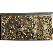 Thai Silver-Plated Presentation Box, From The Estate Of General Alexander Haig, U. S. Secretar