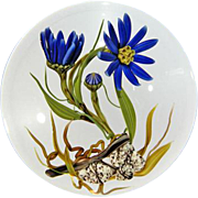 "REDUCED CHRIS BUZZINI Glass Art One Of One Paperweight ""Tahoka Daisy"""