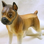 Signed and Numbered Collectible Porcelain Boxer
